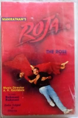 Roja Hindi Audio Cassettes By A.R. Rahman