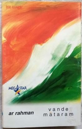 Vande Mataram Hindi Audio Cassettes By A.R Rahman