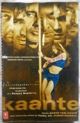 Kaante Hindi Audio Cassette By Lucky Ali Vishal–Shekhar