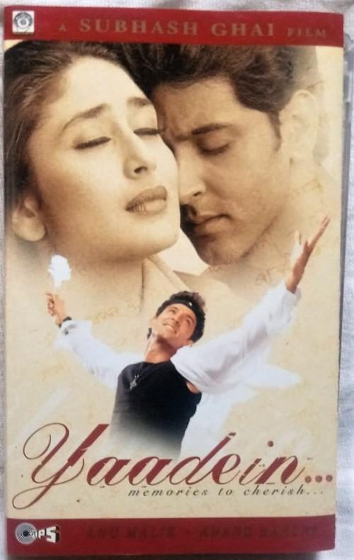 Yaadein Hindi Tamil Audio Cassettes (1)