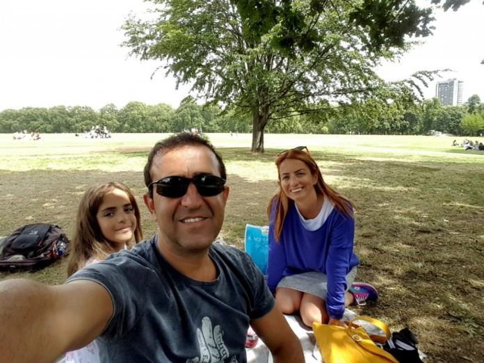 Hyde Park'ta piknik