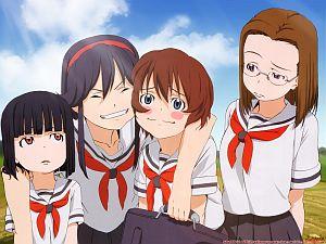 blush-glasses-hitotsubashi-yurie-kamichu-saegusa-matsuri-saegusa-miko-school-school-uniform-schoolgirl-seifuku-shijou-mitsue_f29cc