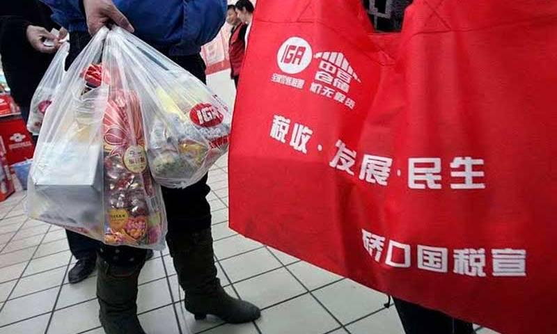 Sacolas de compras que não poluem os oceanos serão vendidas no Japão