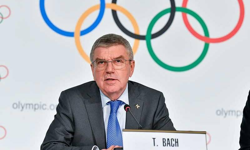 Thomas Bach, presidente do Comitê Olímpico Internacional (COI)