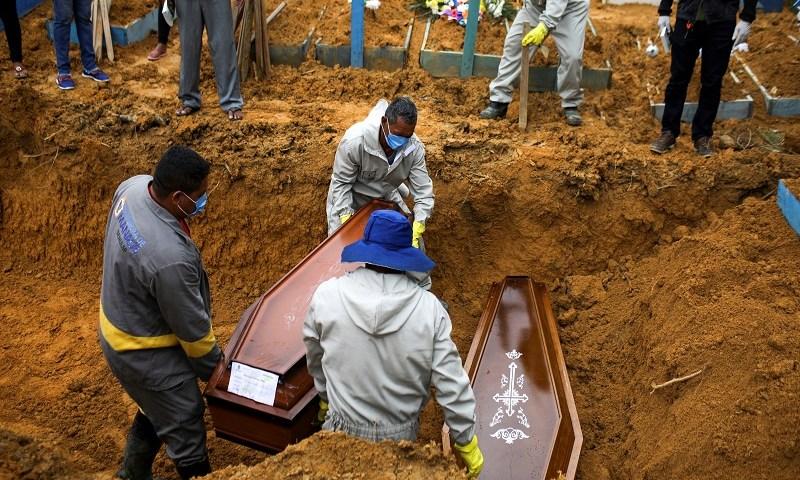 Brasil tem 1,1 mil mortes por covid-19 registradas em 24 horas