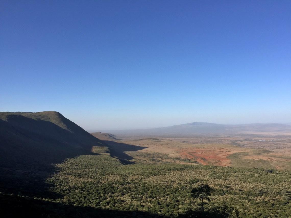 The Suswa Escarpment