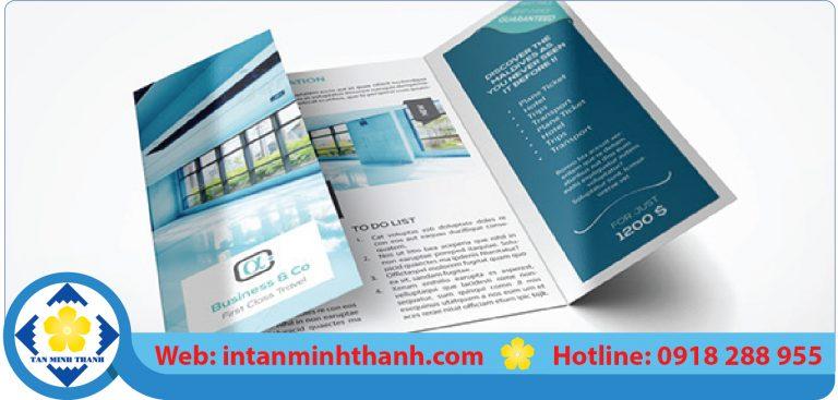 dịch vụ in brochure giá rẻ