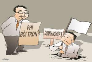 Biếm họa: Các chủ doanh nghiệp mệt mỏi về các loại phí bôi trơn