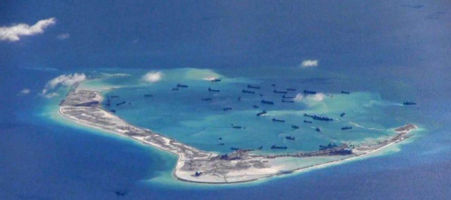 Trung Cộng gấp rút tiến hành 'đốt giai đoạn' xây dựng tại đảo Bãi Cạn