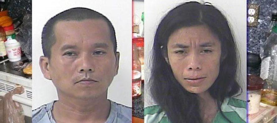 Bắt giữ bố mẹ gốc Việt để con sống dơ bẩn, điều kiện tội tệ