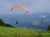 Paraglider auf der Hochries
