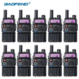 10-pcs Baofeng UV-5R VHF UHF Walkie Talkie