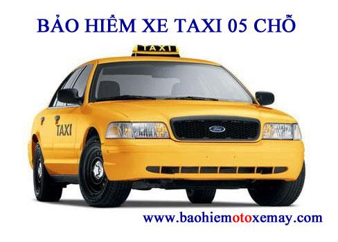 Bảo hiểm xe taxi 4 - 5 chỗ | Chiết khấu 30