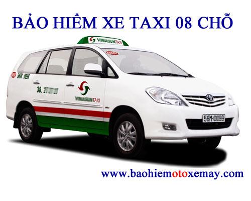 Bảo hiểm TNDS bắt buộc xe taxi 08 chỗ