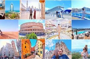 【杜拜+歐洲】華麗杜拜+地中海郵輪之旅♥一輩子難忘的奢華浪漫15日行程總攬