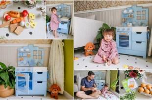 【育兒】每個寶寶都該擁有一台夢幻小廚房♥荷蘭New Classic Toys文藝聲光小主廚