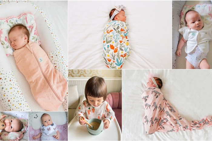 【育兒】二寶媽育兒好物分享♥睡過夜神器、ergoPouch二合一舒眠包巾、LittleUnicorn最美紗布巾、Glitter&Spice哺育系列