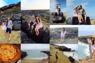 【夏威夷Hawaii】大島Day 7乘著吉普車探險去♥神秘的綠沙灘+黑沙灘+Kalapana Lava Hike+火山國家公園