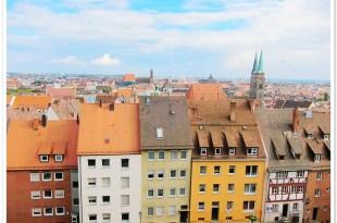 【愛戀在德國】漫步在古色古香的紐倫堡『城堡外』♥