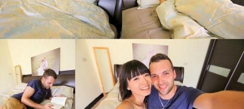 【生活】小夫妻的甜蜜居家生活美學❤親膚柔軟好舒適的法蝶寢具