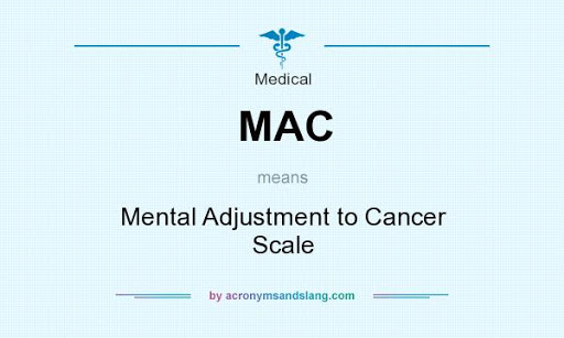 Защитен: MENTAL ADJUSTMENT TO CANCER SCALE (MAC)©
