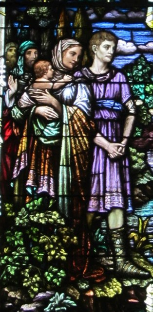 Detail from Baptism (1927)