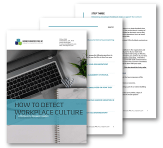 How to Detect Workplace Culture Workbook   BA PRO, Inc.