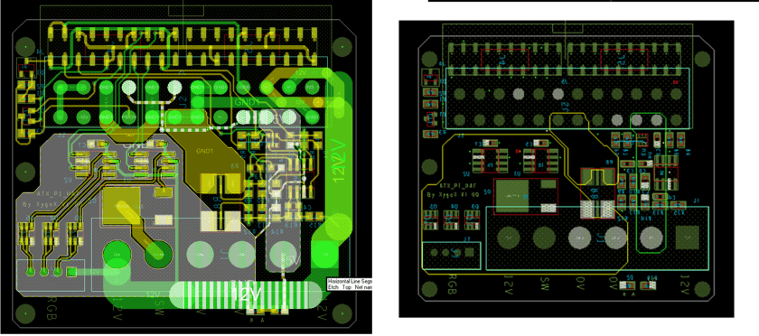 ATXPiHat Circuit board layout