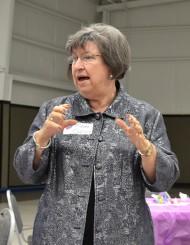Edna Ellison at Cedar Shoals