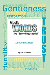 """God's Words are """"Something Special"""" by Pat Bishop"""
