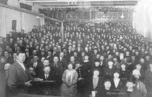 1926 foto eerste baptistenkerk