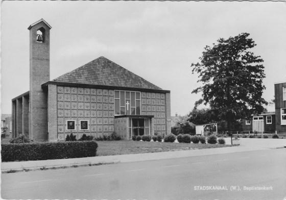 Ingezonden Ansichtkaart Baptisten Gemeente Stadskanaal-Noord