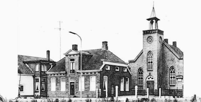de eerste kerk van Nederland