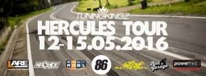 Hercules Tour 2016 Plakat