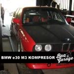 Ori BMW e30 M3 Kompersor – Exhaust system