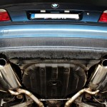BMW 740i   Baq Exhaust