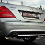 Mercedes-Benz S450 W221   Baq Exhaust