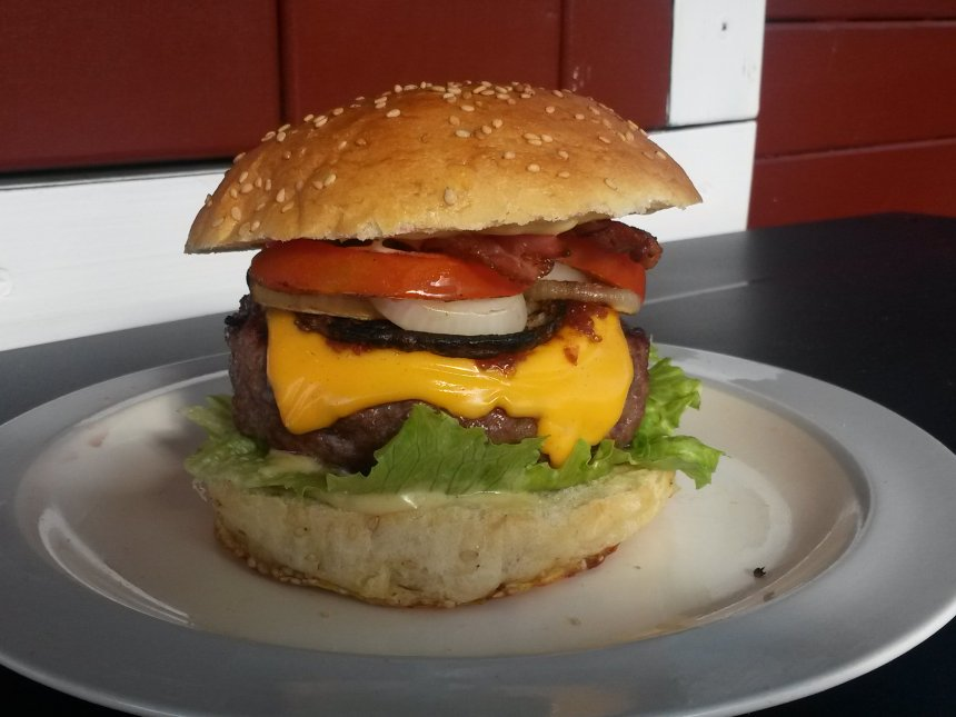 Double Bacon Cheeseburger