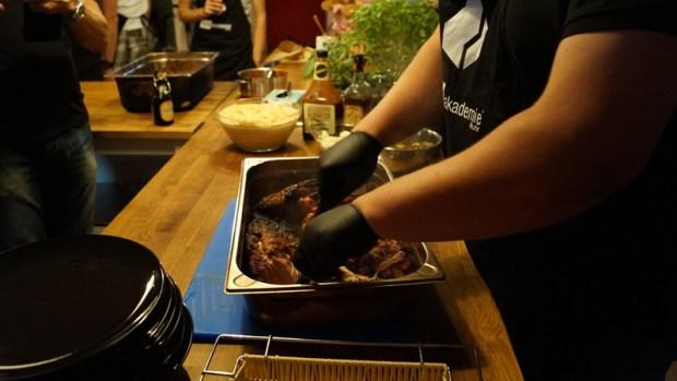 "Pulled Pork wird ""gepulled"""