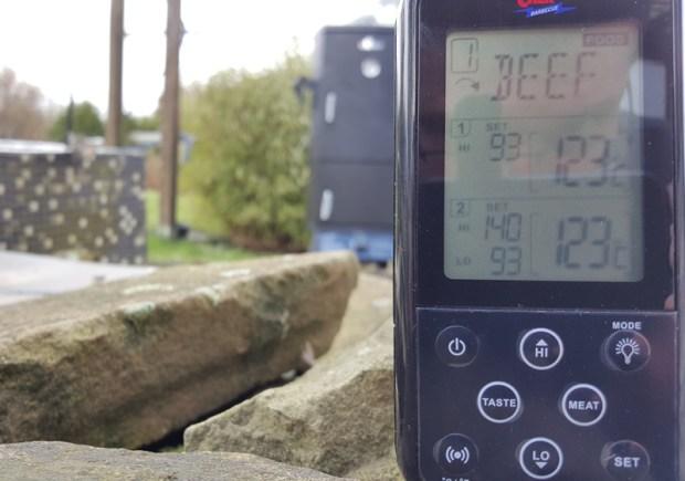 Low ´slow. Die Temperatur bleibt absolut konstant