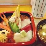 ささやかながら母の誕生日祝いを…と、お昼に母娘2人でお寿司屋さんへ。
