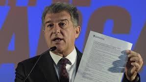 ラポルタ:「PSGはバルサに対して敬意を欠いた。」