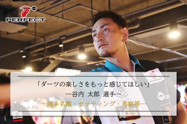 【選手考察】谷内 太郎:名鑑・セッティング・活躍等