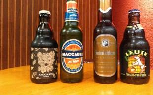 【数量限定】当店取り扱いスペシャルビール特集~マカビー/ルート・ボック/ベアレン・チョコレートスタウト