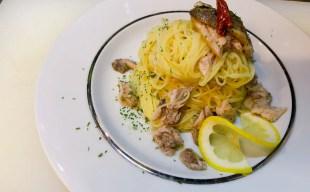 【夏季限定の冷製パスタ】真鰯とレモンの冷製カッペリーニ