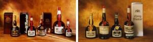 המבחר של גרנד מרנייה : גרנד מרנייה - אדום וצהוב , שרי מרנייה , קרם מרנייה , קוניאק מרנייה