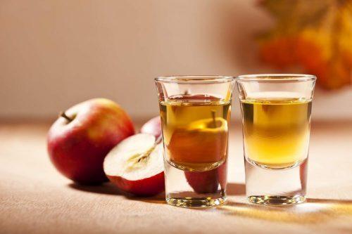 خل التفاح للجلد المحمر