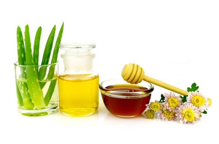 مزيل مكياج الصبار والزيت والعسل