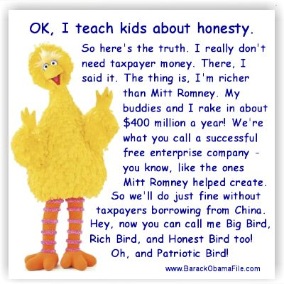 Big Bird Tells The Truth