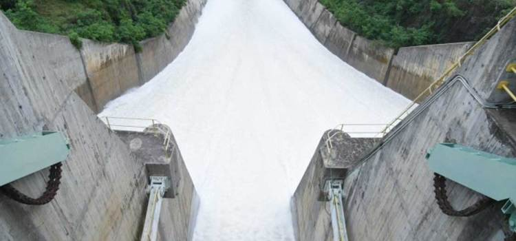 Vuelve desagüe embalse Tavera-Bao por aguaceros